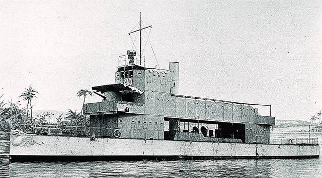 Gunboat Melik, 1897