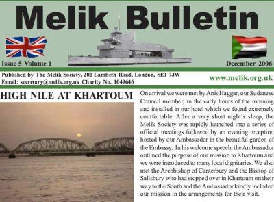 Melik Bulletin 2006
