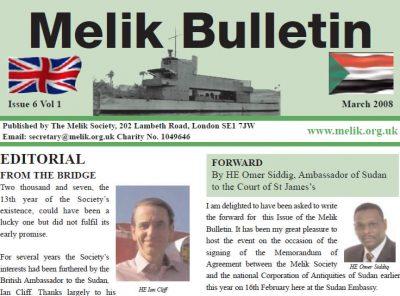 Melik Bulletin 2008