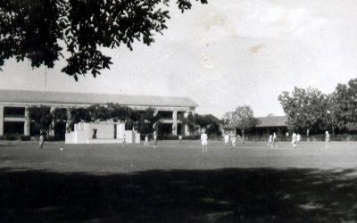 RAF Cricket Ground at Khartoum 1946