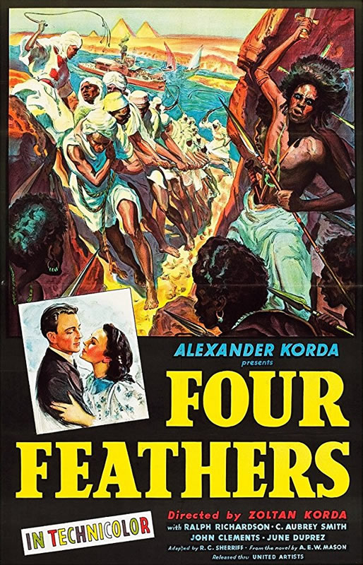 The Four Feathers film poster