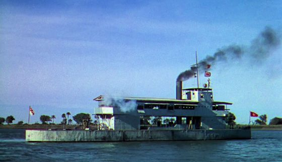 Gunboat Melik recommissioned for the film, The Four Feathers